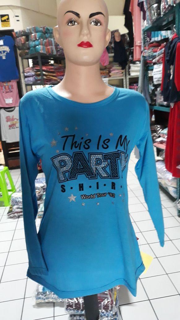 Pusat Grosir Kaos Lelang ABG Perempuan Murah Bandung