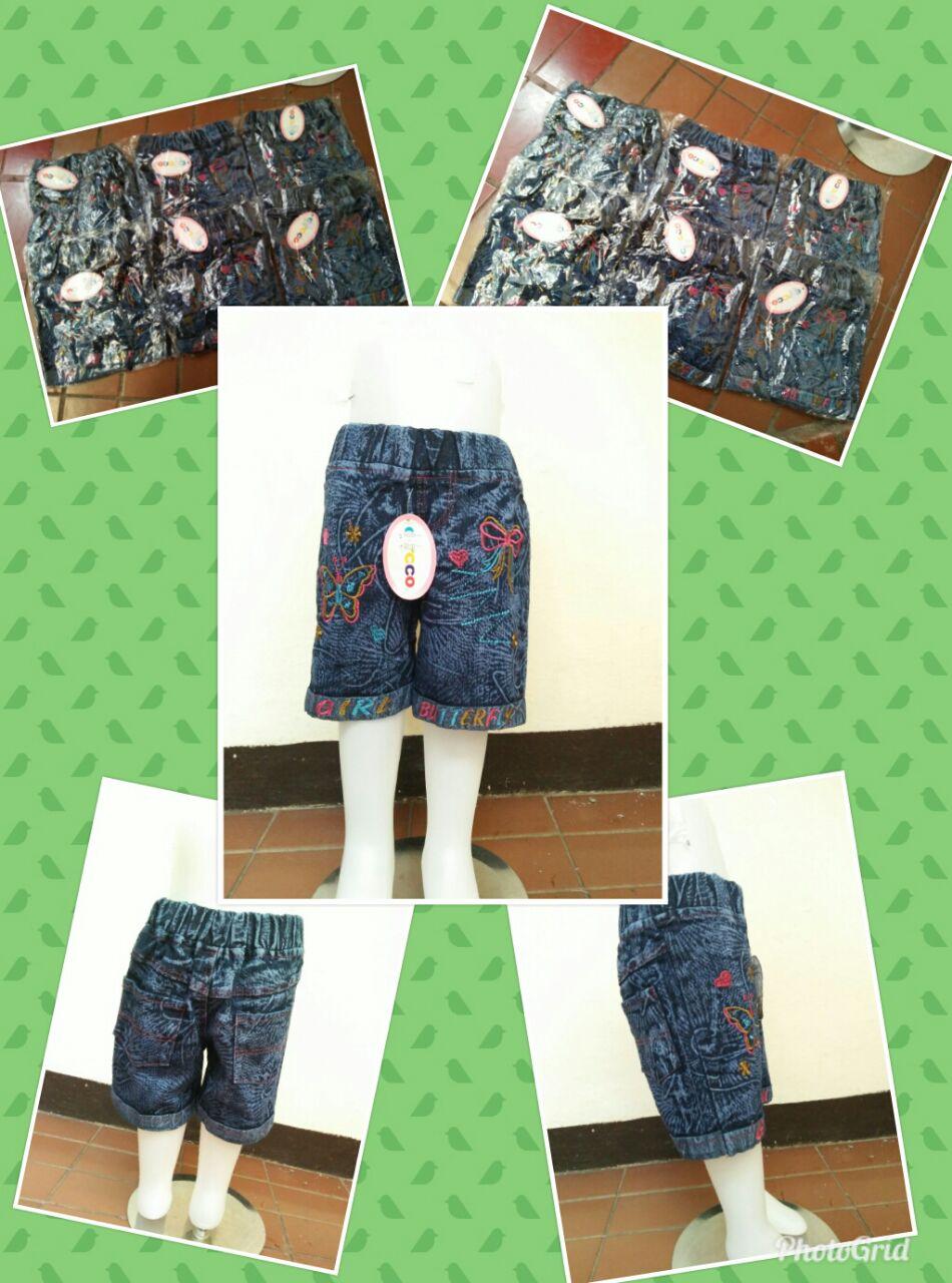 Grosir Celana Jeans Hotpant Anak Perempuan Murah Bandung