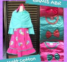 Distributor Gamis ABR Anak Perempuan Murah Bandung