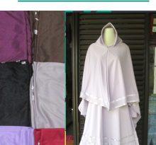 Produsen Gamis Bergo Polos Syar'i Dewasa Murah Bandung