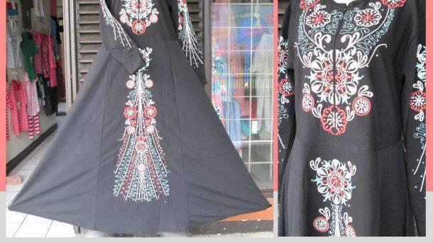 Pusat Grosir Cimahi Supplier Gamis Payet Bordir Dewasa Murah Cimahi 125Ribu