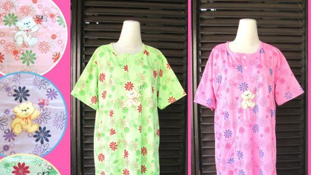 Pusat Grosir Cimahi Distributor Baju Tidur Katun Daster Dewasa Jumbo Murah di Cimahi 25Ribu