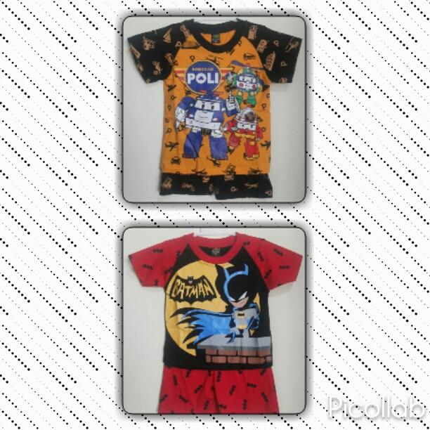 PUSAT GROSIR PAKAIAN MURAH CIMAHI BANDUNG Pusat Grosir Setelan Super hero Size 4-8 Anak Laki Laki Murah 20Ribu