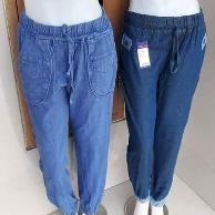 Pusat Grosir Cimahi Pusat Grosir Celana Jogger Jeans Wanita Dewasa Murah 40Ribu