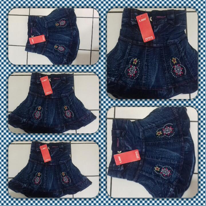 Pusat Grosir Cimahi Sentra Grosir Rok jeans Anak Perempuan Murah 18Ribu