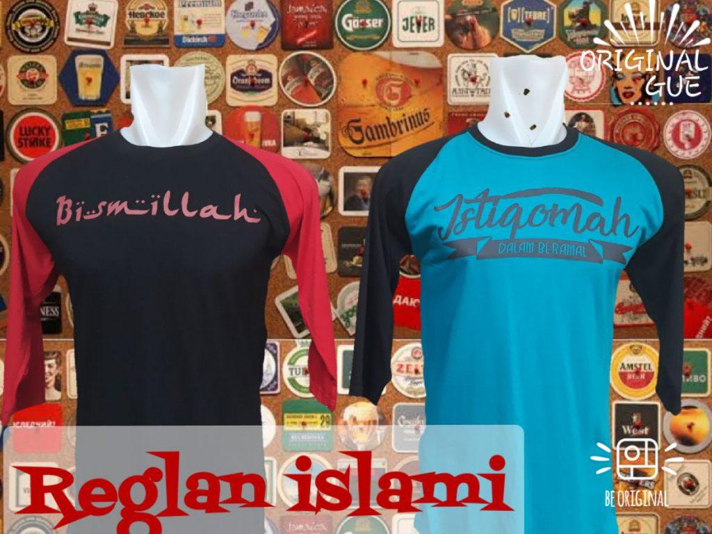 Pusat Grosir Cimahi Grosir Kaos Distro Raglan Islami Dewasa Murah Bandung 30Ribu