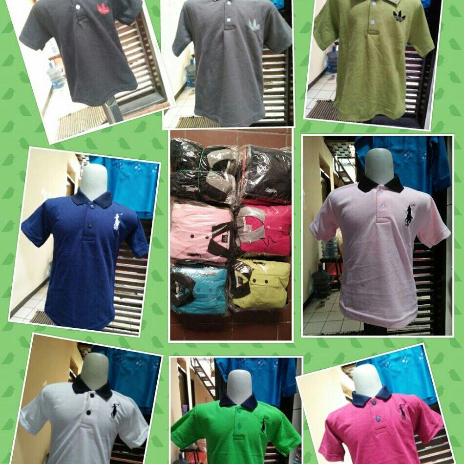 Pusat Grosir Cimahi Grosir Kaos Kerah Polos Kids Anak Laki Laki Murah Bandung 14Ribu