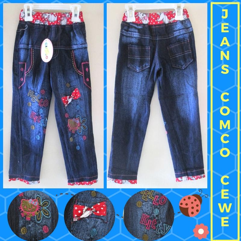 Pusat Grosir Cimahi Produsen Celana Jeans Comco Cewe Anak Perempuan Murah Cimahi 35Ribu
