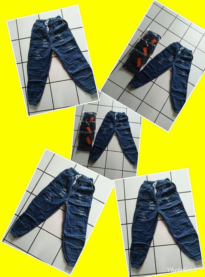 Pusat Grosir Cimahi Produsen Celana Jogger Jeans Anak Tanggung Murah Cimahi 35Ribu