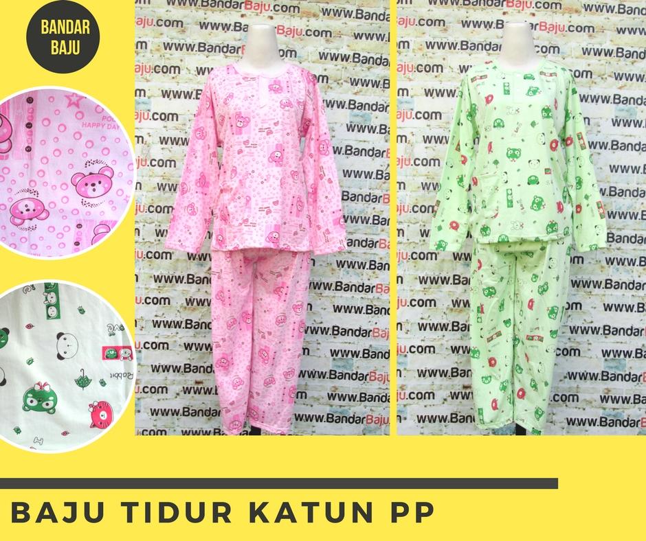 Pusat Grosir Cimahi Distributor Baju Tidur Katun Panjang Dewasa Murah 30Ribu