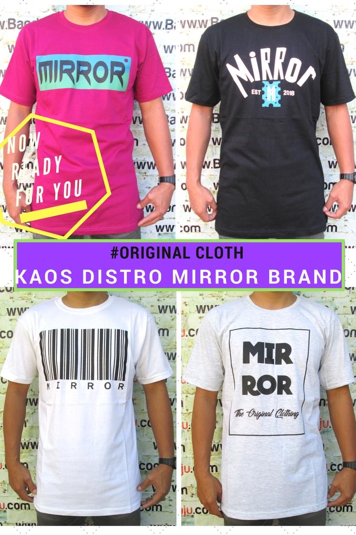 Pusat Grosir Cimahi Kulakan Kaos Distro Mirror Brand Dewasa Murah Cimahi 34Ribu