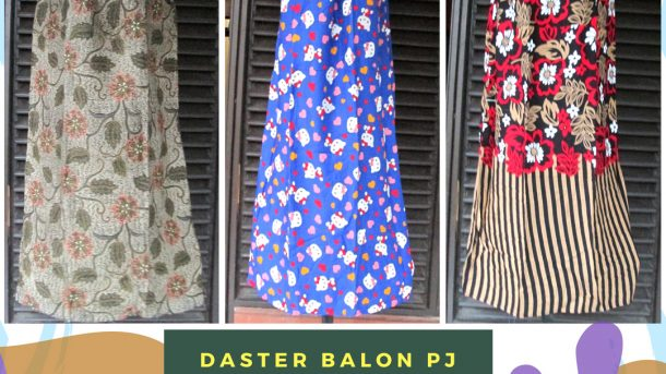 Pusat Grosir Cimahi Supplier Daster Balon Panjang Dewasa Murah Cimahi Rp26.500