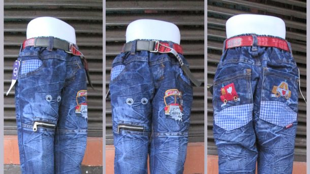PUSAT GROSIR PAKAIAN MURAH CIMAHI BANDUNG Konveksi Celana Jeans Brand Kids Anak Laki Laki Murah Cimahi 45Ribu