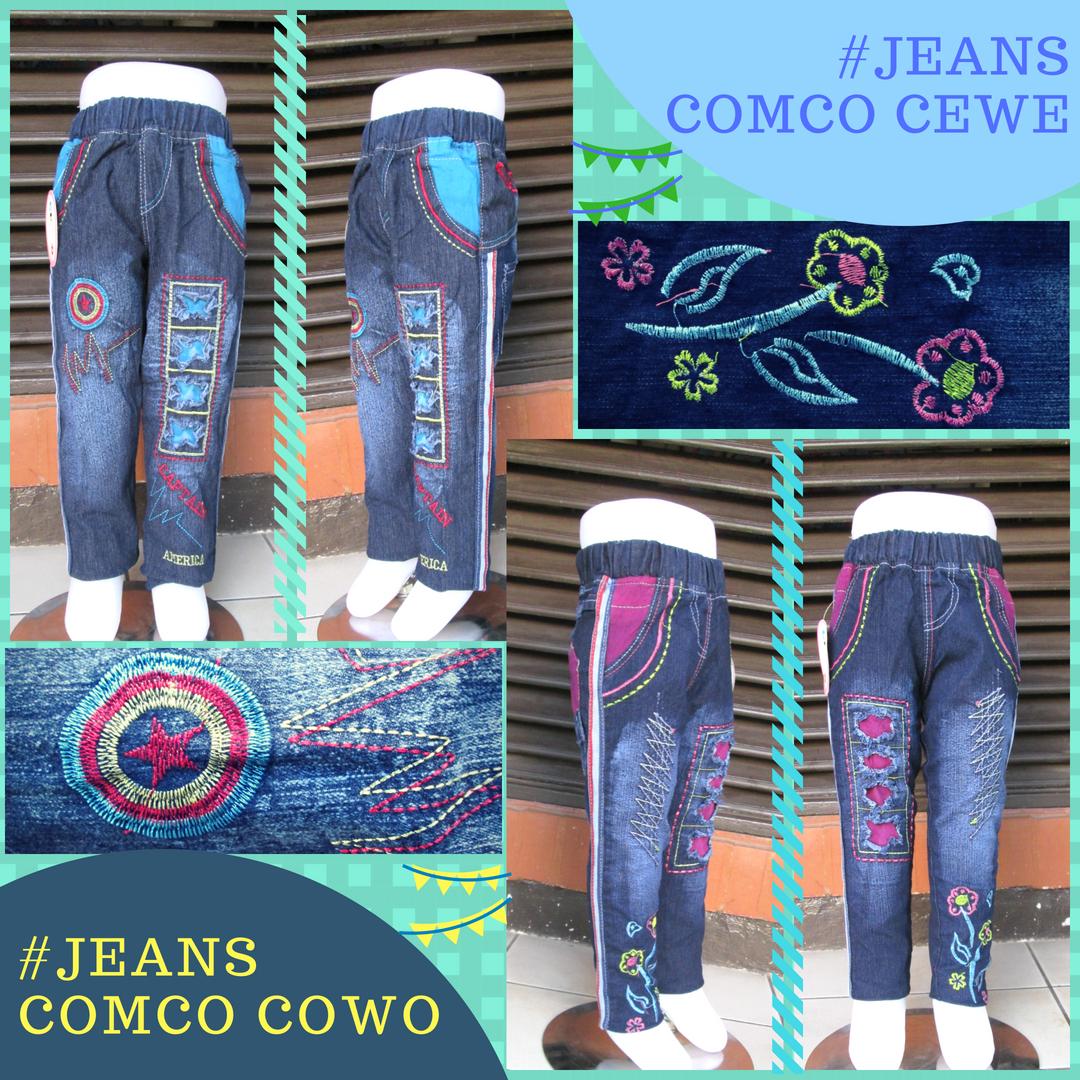 PUSAT GROSIR PAKAIAN MURAH CIMAHI BANDUNG Konveksi Celana Jeans Comco Anak Murah di Cimahi 35Ribu