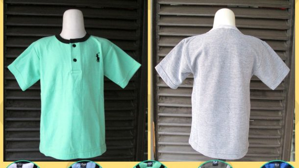 Pusat Grosir Cimahi Distributor Kaos Krah Polos Anak Murah di Cimahi 15Ribuan