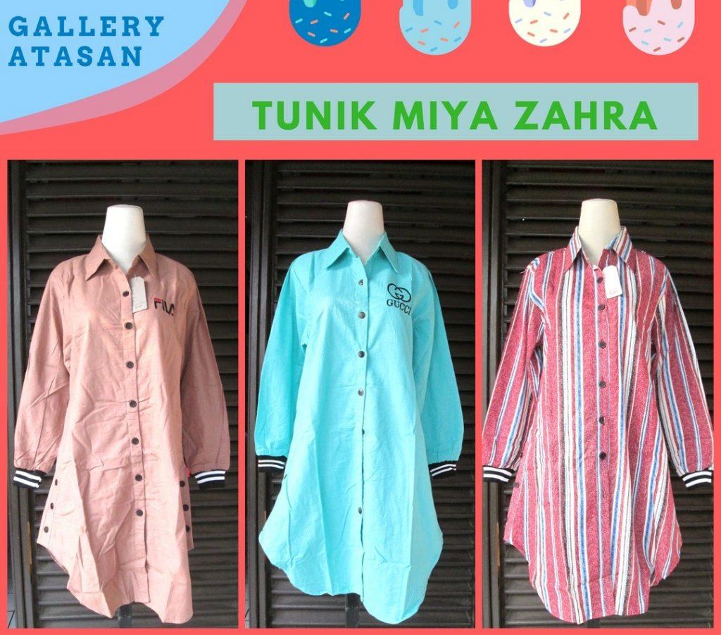 Pusat Grosir Cimahi Produsen Tunik Miya Zahra Dewasa Murah di Cimahi 60Ribu