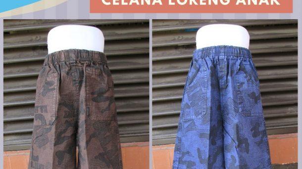 Pusat Grosir Cimahi Produsen Celana Kanvas Anak Laki Laki Murah di Bandung Mulai Rp.12.500
