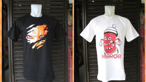Pusat Grosir Cimahi Pabrik Kaos Distro Mirror Brand Dewasa Terbaru Murah di Cimahi 34Ribu