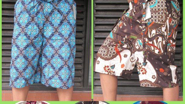 Pusat Grosir Cimahi Distributor Celana Kulot Motif Batik 7/8 Murah di Cimahi 28Ribuan