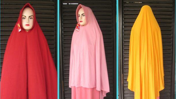 Pusat Grosir Cimahi Pabrik Kerudung Syar'i Jumbo Lilit Dewasa Murah di Cimahi 28Ribu