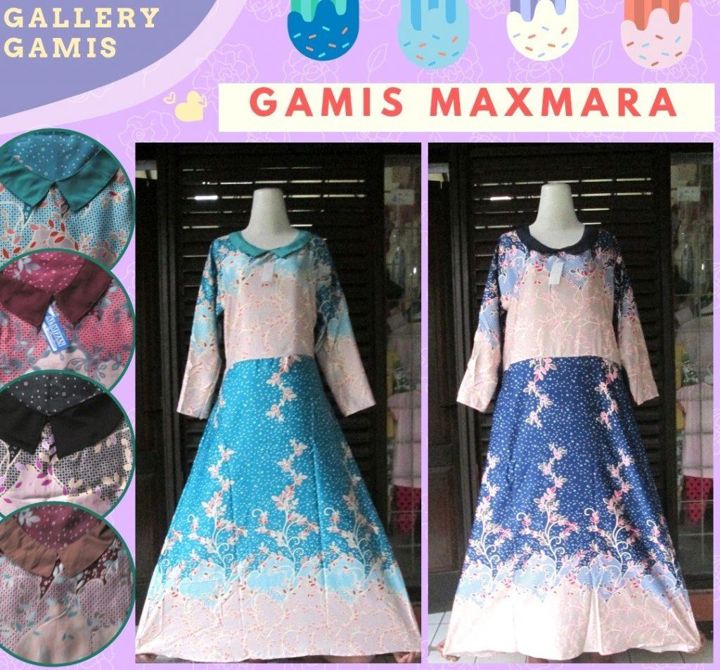 Pusat Grosir Cimahi Supplier Gamis Maxmara Dewasa Murah di Bandung 55Ribuan