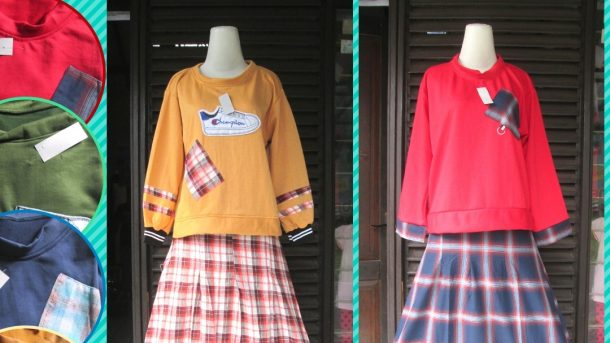 Pusat Grosir Cimahi Distributor Setelan Rok Flanel Wanita Dewasa Murah di Cimahi 65Ribu