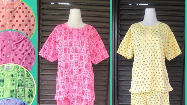 Pusat Grosir Cimahi Supplier Baju Tidur Katun Dewasa 3/4 Jumbo Murah di Cimahi 30Ribu