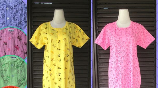Pusat Grosir Cimahi Distributor Baju Tidur Katun Daster Dewasa Terbaru Murah di Cimahi 24Ribuan