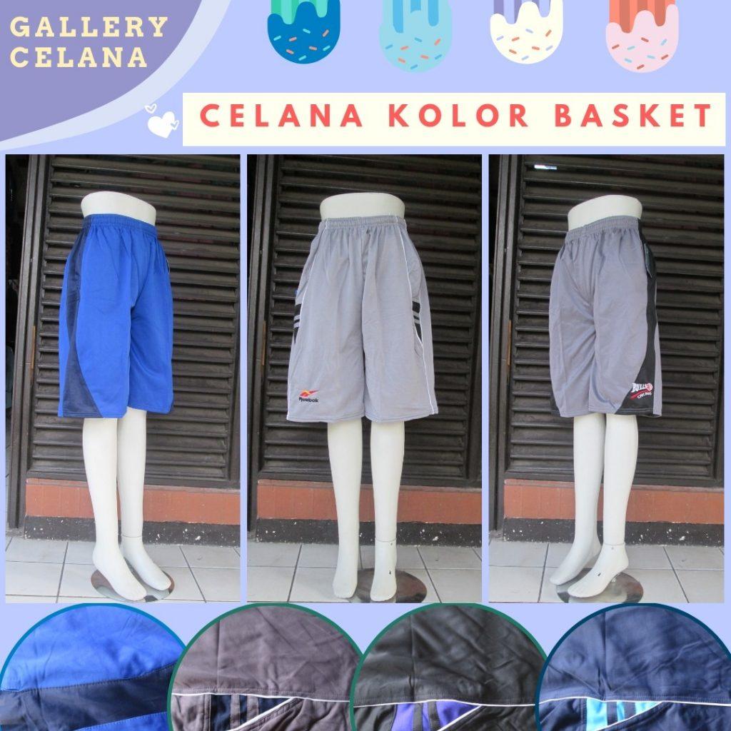 PUSAT GROSIR PAKAIAN MURAH CIMAHI BANDUNG Produsen Celana Kolor Basket Dewasa Sporty Murah di Cimahi Rp.20.500