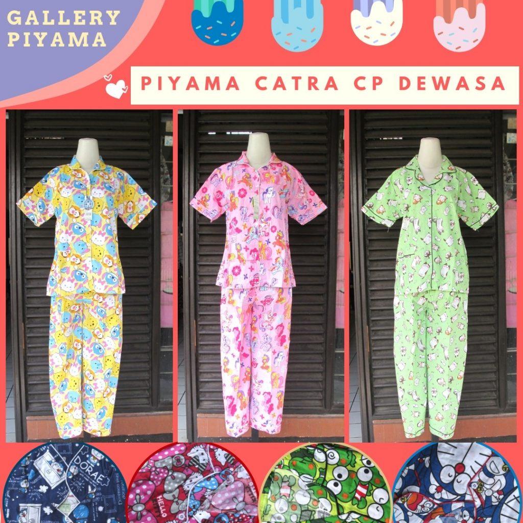 Pusat Grosir Cimahi Supplier Piyama Catra Celana Panjang Dewasa Murah di Cimahi 51Ribuan