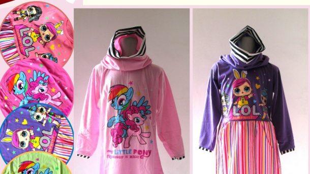 Pusat Grosir Cimahi Produsen Gamis Lolly Anak Perempuan Karakter Murah di Cimahi Mulai 26Ribuan