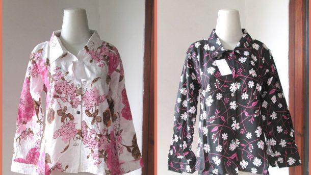 Pusat Grosir Cimahi Distributor Kemeja Fuji Wanita Dewasa Terbaru Murah di Cimahi 30ribuan
