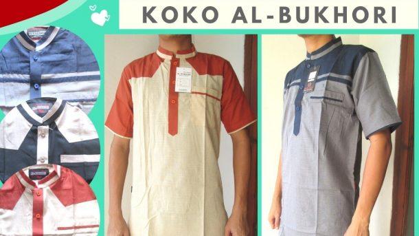 PUSAT GROSIR PAKAIAN MURAH CIMAHI BANDUNG Distributor Koko Al-Bukhori Dewasa Termurah di Cimahi Hanya 66RIBUAN