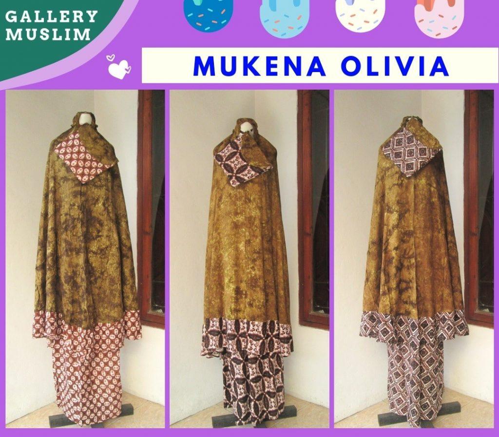 Pusat Grosir Cimahi Supplier Mukena Batik Olivia Dewasa Termurah di Cimahi Hanya 90RIBUAN
