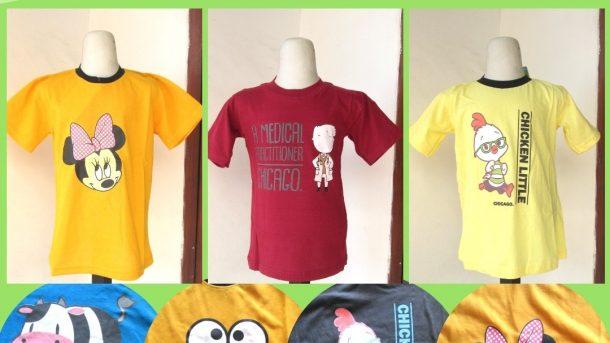 PUSAT GROSIR PAKAIAN MURAH CIMAHI BANDUNG Distributor Kaos Chicago Anak Karakter Murah di Cimahi Hanya 16RIBUAN
