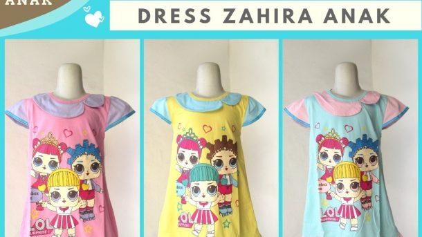 PUSAT GROSIR PAKAIAN MURAH CIMAHI BANDUNG Produsen Dress Zahira Anak Perepuan Karakter Murah di Bandung 20RIBUAN