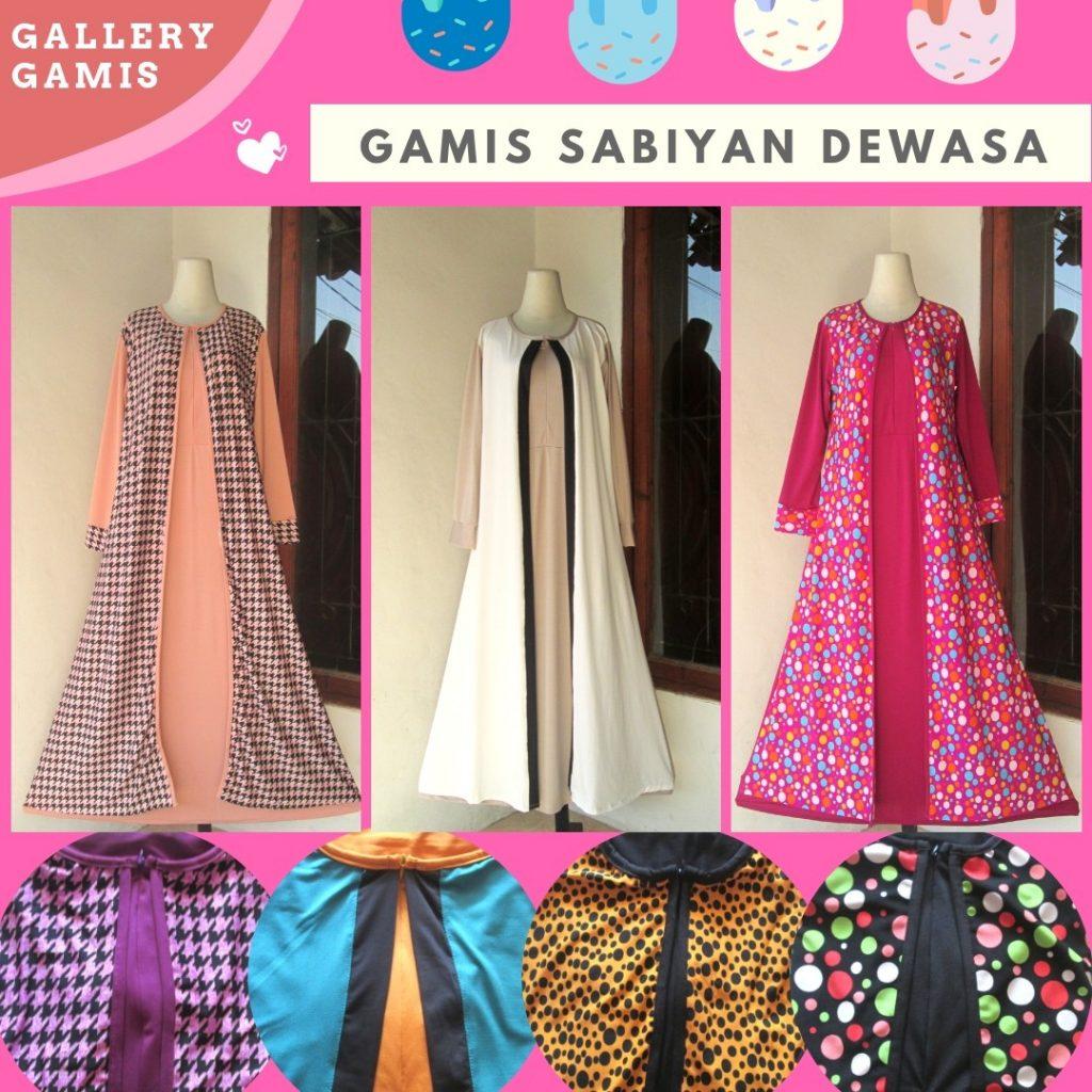 Pusat Grosir Cimahi Supplier Gamis Sabiyan Dewasa Termurah di Bandung 68Ribuan