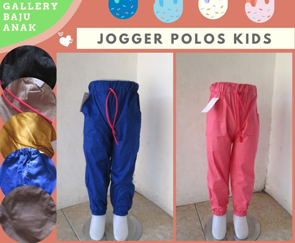 PUSAT GROSIR PAKAIAN MURAH CIMAHI BANDUNG Produsen Celana Jogger Polos Kids Anak Laki laki Murah di Bandung Hanya Rp.17.500