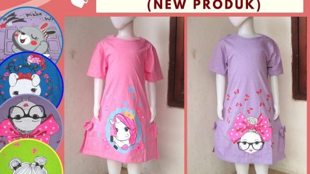 Pusat Grosir Cimahi Distributor Dress LALUNA Anak Perempuan Terbaru Murah di Cimahi Hanya 26RIBUAN