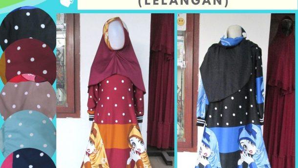 PUSAT GROSIR PAKAIAN MURAH CIMAHI BANDUNG Distributor Gamis Misbee LELANG Anak Perempuan Murah di Cimahi 35RIBUAN