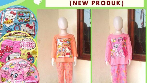 Pusat Grosir Cimahi Distributor Setelan Ainun Panjang Karakter Anak Perempuan Murah di Cimahi Mulai 17RIBU