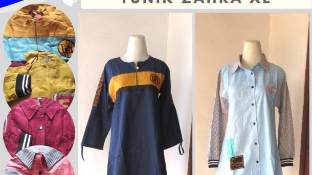 PUSAT GROSIR PAKAIAN MURAH CIMAHI BANDUNG Reseller Tunik Zahra XL Wanita Dewasa Casual Murah di Cimahi 51RIBUAN SAJA