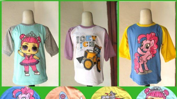 Pusat Grosir Cimahi Pabrik Kaos Dujati DJR Anak Karakter Murah di Bandung Hanya Rp.15.500