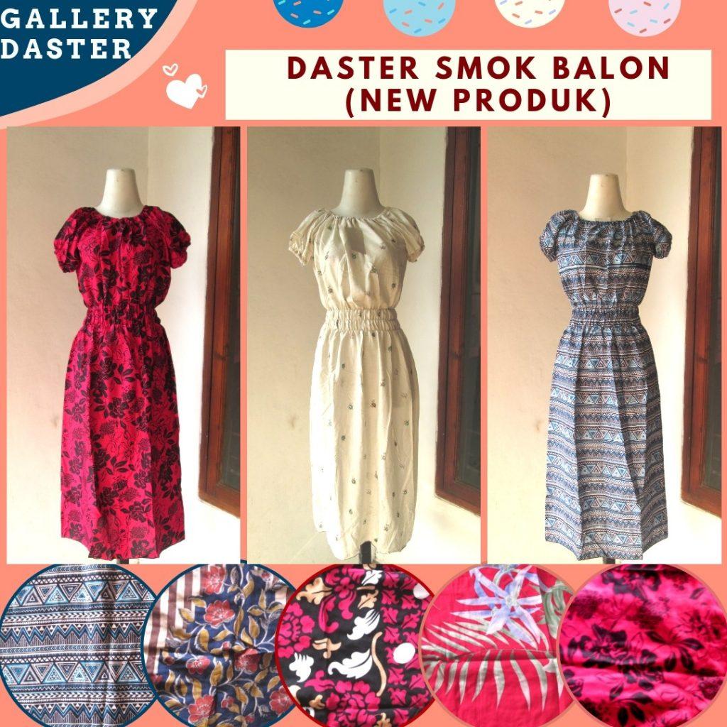 Pusat Grosir Cimahi Grosiran Daster Smok Balon Wanita Dewasa Termurah di Bandung Hanya 26RIBUAN