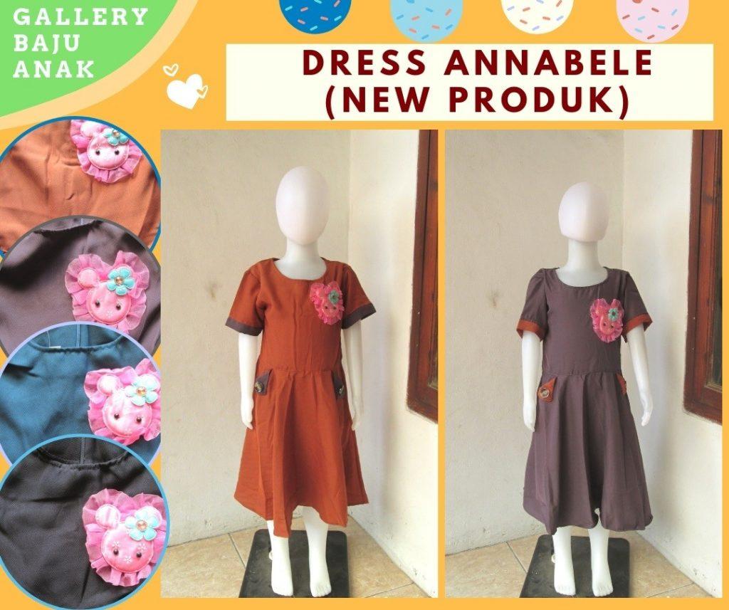 Pusat Grosir Cimahi Distributor Dress Annabelle Anak Perempuan Murah di Cimahi Hanya 39RIBUAN