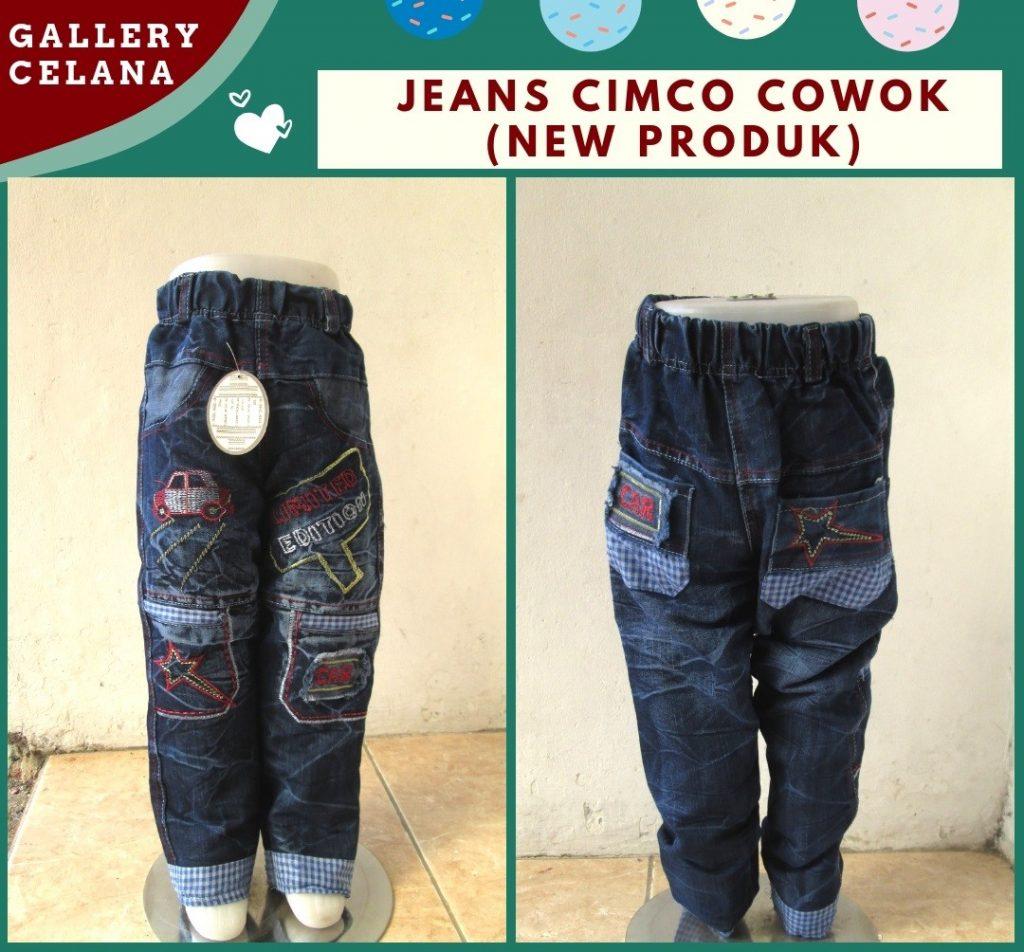 Pusat Grosir Cimahi Konveksi Celana Jeans Cimco Anak Laki Laki Murah di Bandung Hanya 36RIBUAN
