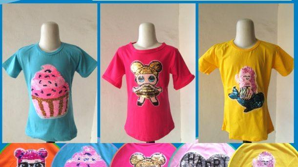 Pusat Grosir Cimahi Supplier Kaos Usap Anak Perempuan Murah di Bandung Hanya 28RIBUAN