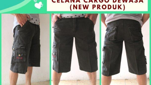 Pusat Grosir Cimahi Produsen Celana Cargo Pendek Pria Dewasa Casual Murah di Cimahi hanya 48RIBUAN