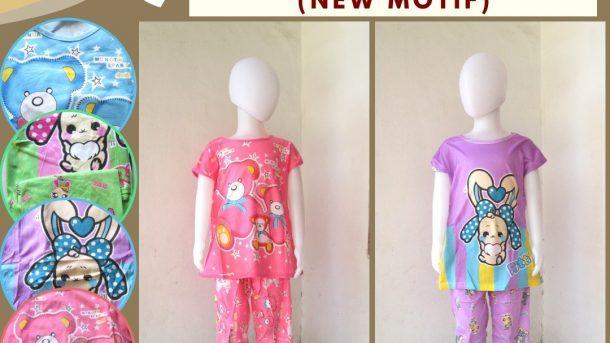 Pusat Grosir Cimahi Supplier Baju Tidur Korea 3/4 Anak Karakter Murah di Bandung Hanya 25RIBUAN