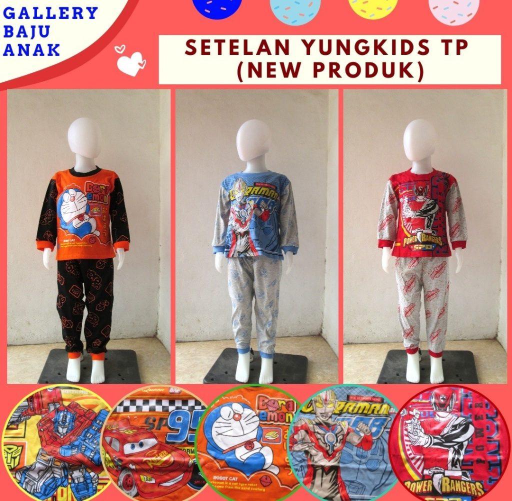 Pusat Grosir Cimahi Distributor Setelan Yungkids TP Anak Laki Laku Termurah di Bandung Mulai Rp.23.000